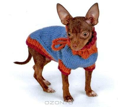 схему вязания свитерка или