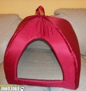 Сделать домик для собаки своими руками из поролона