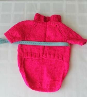 Длинный вязание одежды для