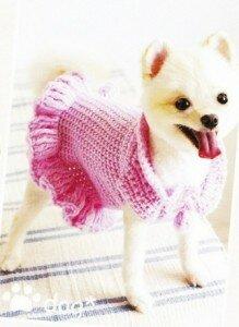 Платье для собаки своими руками